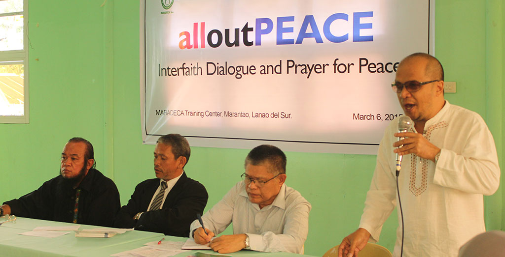 Interfaith groups Dialogue for sobriety after Mamasapano incident