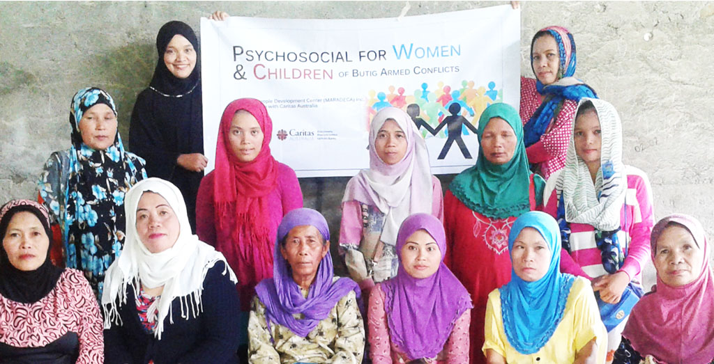 Volunteers trained on psychosocial interventions for women and children
