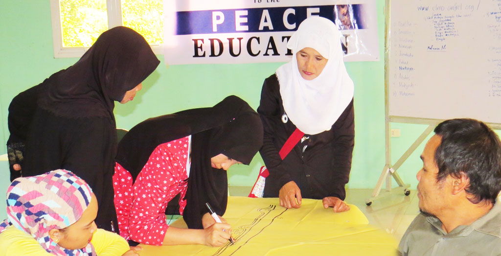 Peace education participants share best practices