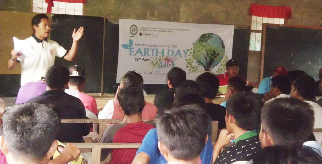 MARADECA joins Earth Day celebration