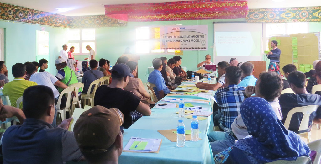 Provincial conversation on the Bangsamoro  Peace Process