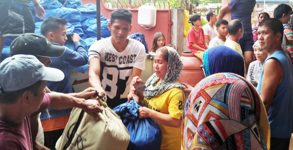 CRS distributes relief supplies to IDPs through MARADECA